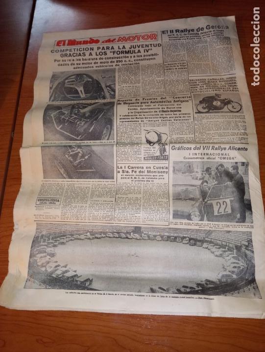 Coleccionismo deportivo: EL MUNDO DEPORTIVO DEL 3 DE MARZO DE 1966 BARCELONA Y ESPAÑOL EN HANNOVER - Foto 5 - 246001780