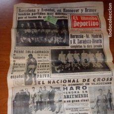 Coleccionismo deportivo: EL MUNDO DEPORTIVO DEL 3 DE MARZO DE 1966 BARCELONA Y ESPAÑOL EN HANNOVER. Lote 246001780