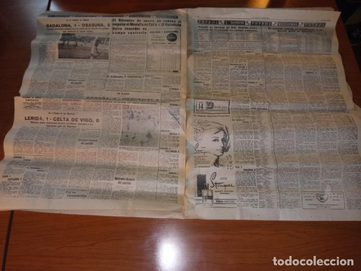 Coleccionismo deportivo: EL MUNDO DEPORTIVO DEL 14 DE FEBRERO 1966 EL MADRID BATIO AL ZARAGOZA Y MANTIENE LAS DISTANCIAS - Foto 4 - 246003005