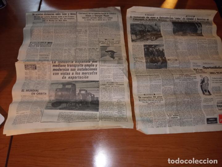Coleccionismo deportivo: EL MUNDO DEPORTIVO DEL 14 DE FEBRERO 1966 EL MADRID BATIO AL ZARAGOZA Y MANTIENE LAS DISTANCIAS - Foto 5 - 246003005