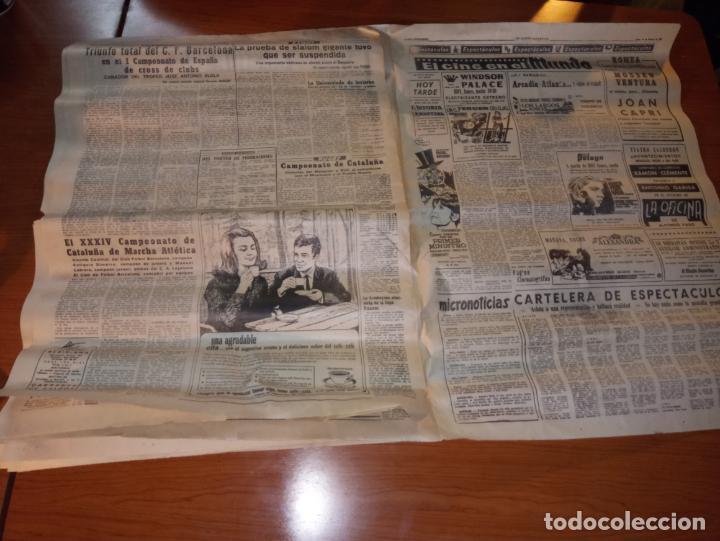 Coleccionismo deportivo: EL MUNDO DEPORTIVO DEL 14 DE FEBRERO 1966 EL MADRID BATIO AL ZARAGOZA Y MANTIENE LAS DISTANCIAS - Foto 8 - 246003005