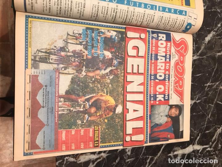 Coleccionismo deportivo: Tomo portada sport temporada 93-94 - Foto 2 - 246069330