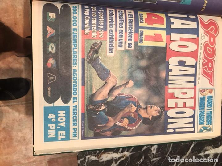 Coleccionismo deportivo: Tomo portada sport temporada 93-94 - Foto 3 - 246069330