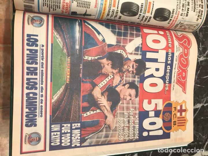 Coleccionismo deportivo: Tomo portada sport temporada 93-94 - Foto 4 - 246069330