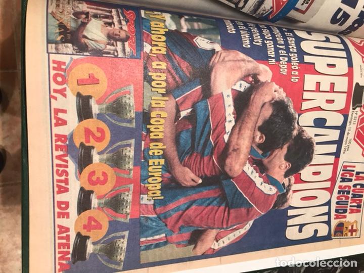 Coleccionismo deportivo: Tomo portada sport temporada 93-94 - Foto 5 - 246069330