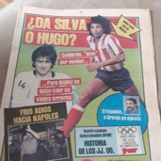 Coleccionismo deportivo: SPORT 5 JULIO 1984 - ¿DA SILVA O HUGO?. - HUSILLOS , MURCIA - COLECCIONABLE HISTORIA JUEGOS OLIMPIC. Lote 246107760