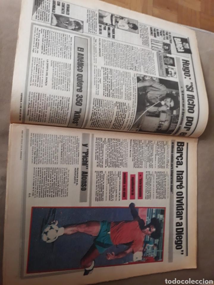 """Coleccionismo deportivo: SPORT 6 JULIO 1984 . HUGO """" HARIA OLVIDAR A MARADONA """".- PLATINI - COLECCIONABLE JUEGOS OLIMPICOS - Foto 2 - 246108730"""