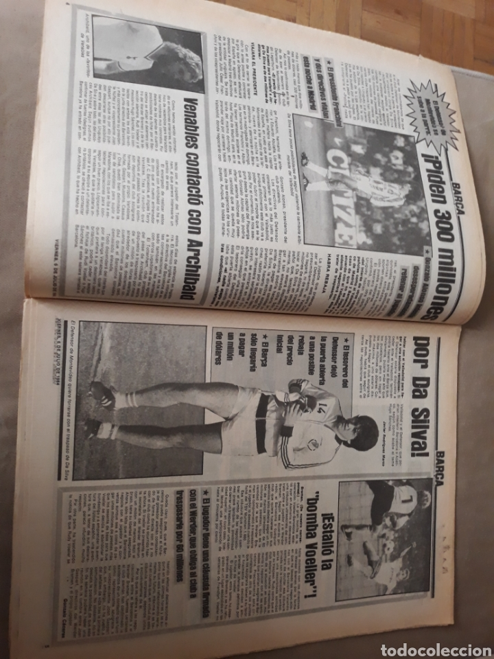 """Coleccionismo deportivo: SPORT 6 JULIO 1984 . HUGO """" HARIA OLVIDAR A MARADONA """".- PLATINI - COLECCIONABLE JUEGOS OLIMPICOS - Foto 3 - 246108730"""