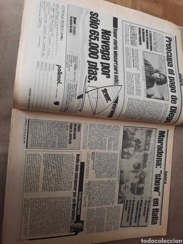 """Coleccionismo deportivo: SPORT 6 JULIO 1984 . HUGO """" HARIA OLVIDAR A MARADONA """".- PLATINI - COLECCIONABLE JUEGOS OLIMPICOS - Foto 4 - 246108730"""