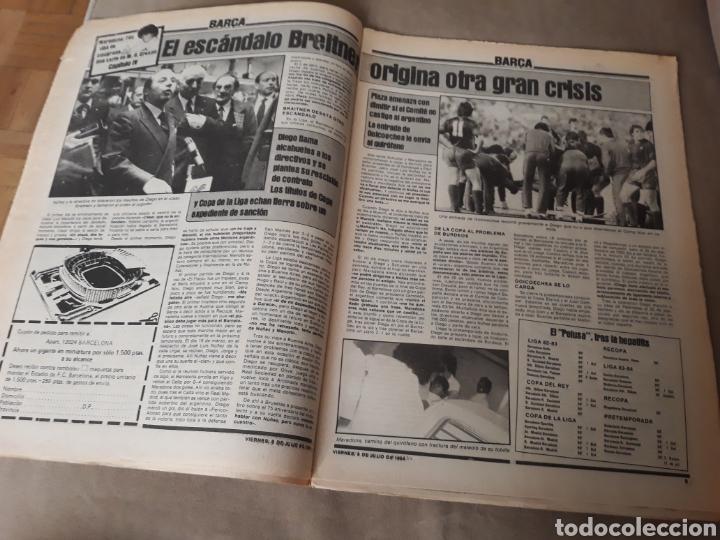 """Coleccionismo deportivo: SPORT 6 JULIO 1984 . HUGO """" HARIA OLVIDAR A MARADONA """".- PLATINI - COLECCIONABLE JUEGOS OLIMPICOS - Foto 5 - 246108730"""