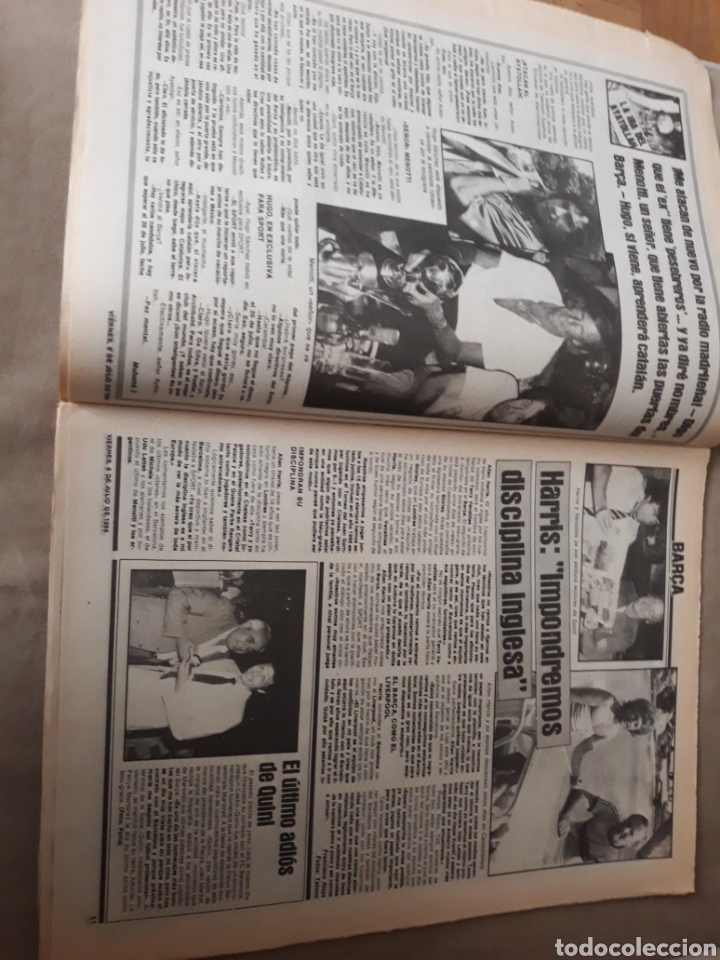 """Coleccionismo deportivo: SPORT 6 JULIO 1984 . HUGO """" HARIA OLVIDAR A MARADONA """".- PLATINI - COLECCIONABLE JUEGOS OLIMPICOS - Foto 6 - 246108730"""