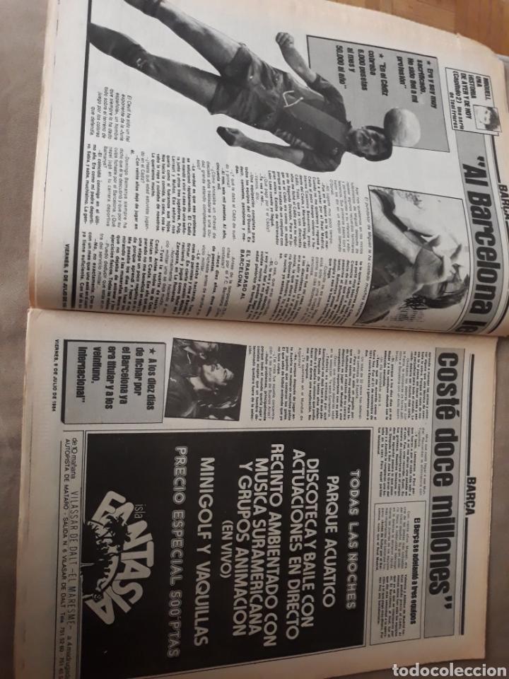 """Coleccionismo deportivo: SPORT 6 JULIO 1984 . HUGO """" HARIA OLVIDAR A MARADONA """".- PLATINI - COLECCIONABLE JUEGOS OLIMPICOS - Foto 7 - 246108730"""