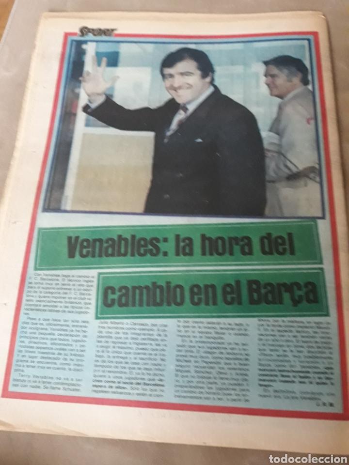 """Coleccionismo deportivo: SPORT 6 JULIO 1984 . HUGO """" HARIA OLVIDAR A MARADONA """".- PLATINI - COLECCIONABLE JUEGOS OLIMPICOS - Foto 10 - 246108730"""