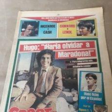 """Coleccionismo deportivo: SPORT 6 JULIO 1984 . HUGO """" HARIA OLVIDAR A MARADONA """".- PLATINI - COLECCIONABLE JUEGOS OLIMPICOS. Lote 246108730"""