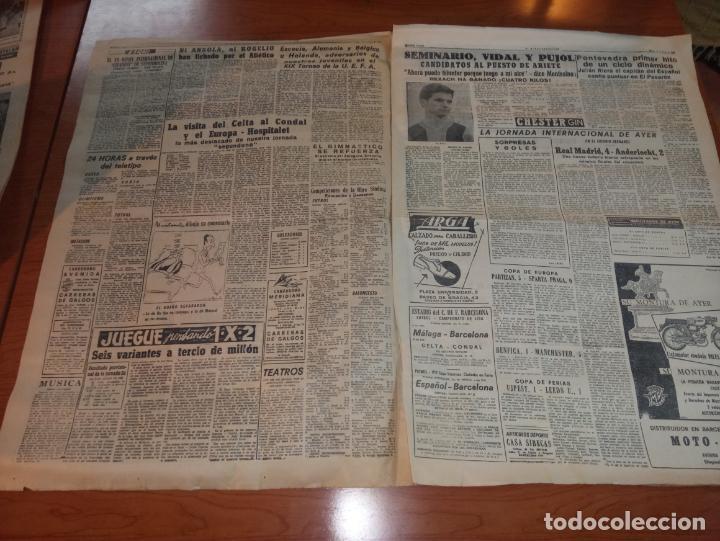 Coleccionismo deportivo: DIARIO EL MUNDO DEPORTIVO DEL 10 DE MARZO DE 1966 MADRID PARTIZAN MANCHESTER EL INTER A SEMIFINALES - Foto 2 - 246113180
