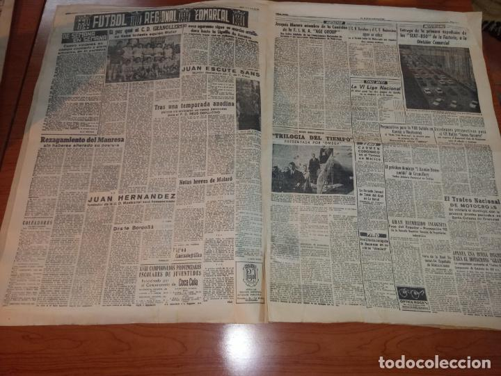 Coleccionismo deportivo: DIARIO EL MUNDO DEPORTIVO DEL 10 DE MARZO DE 1966 MADRID PARTIZAN MANCHESTER EL INTER A SEMIFINALES - Foto 3 - 246113180