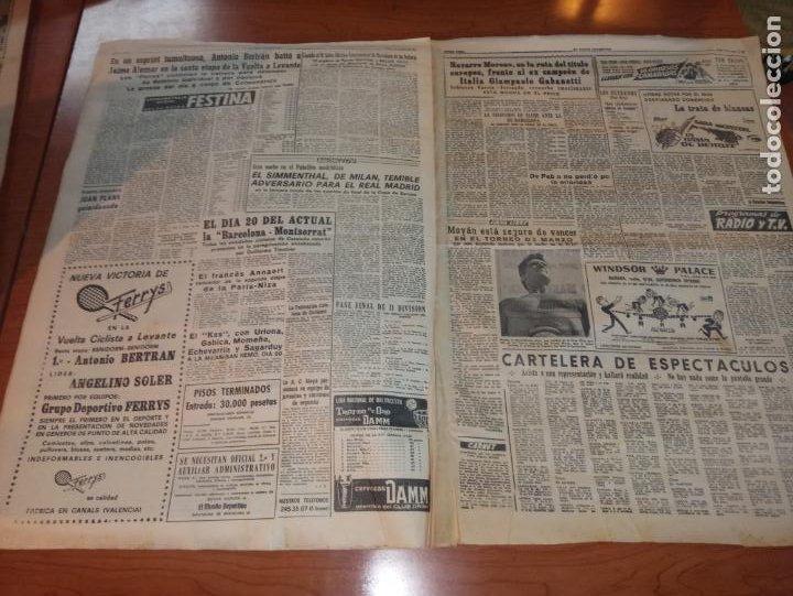 Coleccionismo deportivo: DIARIO EL MUNDO DEPORTIVO DEL 10 DE MARZO DE 1966 MADRID PARTIZAN MANCHESTER EL INTER A SEMIFINALES - Foto 4 - 246113180