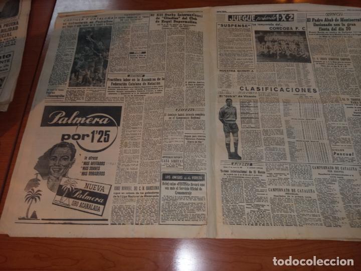 Coleccionismo deportivo: DIARIO EL MUNDO DEPORTIVO DEL 11 DE MARZO DE 1966 EL ESPAÑOL SALE HOY HACIA PONTEVEDRA - Foto 3 - 246113700
