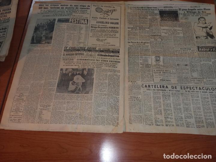 Coleccionismo deportivo: DIARIO EL MUNDO DEPORTIVO DEL 11 DE MARZO DE 1966 EL ESPAÑOL SALE HOY HACIA PONTEVEDRA - Foto 4 - 246113700