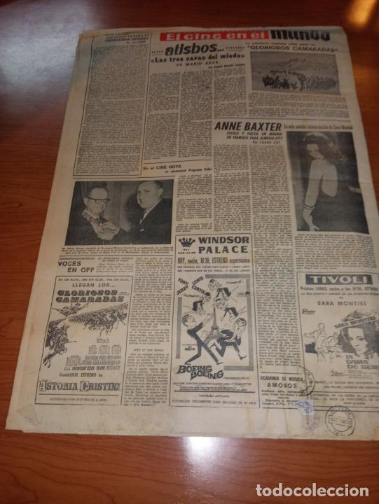 Coleccionismo deportivo: DIARIO EL MUNDO DEPORTIVO DEL 11 DE MARZO DE 1966 EL ESPAÑOL SALE HOY HACIA PONTEVEDRA - Foto 5 - 246113700