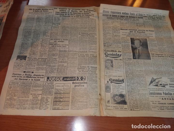 Coleccionismo deportivo: DIARIO EL MUNDO DEPORTIVO DEL 5 DE MARZO DE 1966 ALVAREZ,RAMIREZ,DI STEFANO REAPARECERAN EN SARRIA - Foto 2 - 246114120