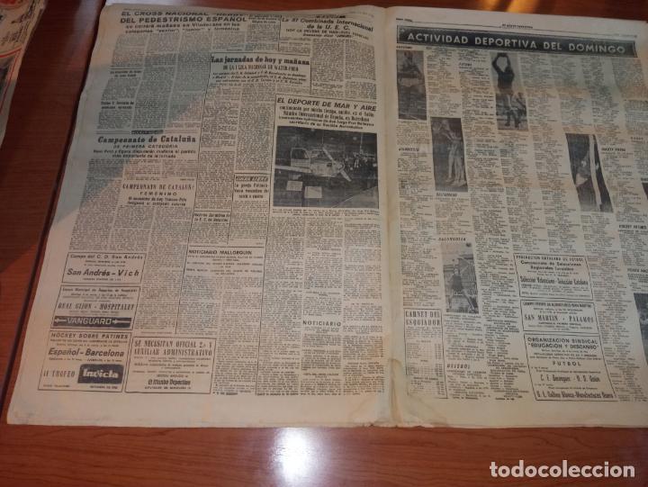 Coleccionismo deportivo: DIARIO EL MUNDO DEPORTIVO DEL 5 DE MARZO DE 1966 ALVAREZ,RAMIREZ,DI STEFANO REAPARECERAN EN SARRIA - Foto 3 - 246114120