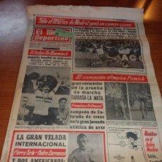 Coleccionismo deportivo: DIARIO EL MUNDO DEPORTIVO DEL 28 DE FEBRERO DE 1966 SOLO EL ATLETICO DE MADRID GANO EN CAMPO AJENO. Lote 246114645