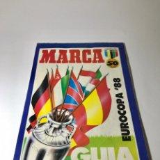 Colecionismo desportivo: MARCA GUÍA EUROCOPA 1988. Lote 246167720