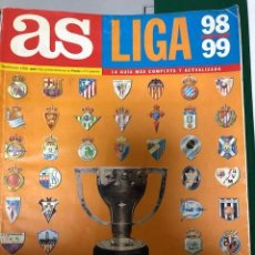 Coleccionismo deportivo: GUIA AS LIGA 98-99. Lote 246337465