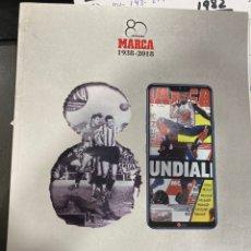 Coleccionismo deportivo: MARCA 80 AÑOS. Lote 246361045