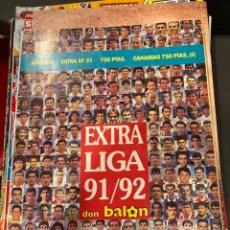 Coleccionismo deportivo: EXTRA LIGA 91 92. Lote 246362030