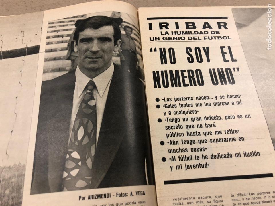 Coleccionismo deportivo: AS COLOR N° 19 (1971). INCLUYE POSTER SABADELL C.F., IRIBAR, ROJO I, QUINI, CHURRUCA, ÁNGEL NIETO,.. - Foto 3 - 246659245