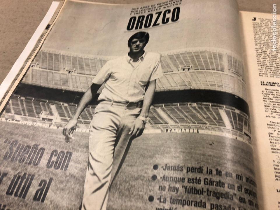 Coleccionismo deportivo: AS COLOR N° 19 (1971). INCLUYE POSTER SABADELL C.F., IRIBAR, ROJO I, QUINI, CHURRUCA, ÁNGEL NIETO,.. - Foto 6 - 246659245