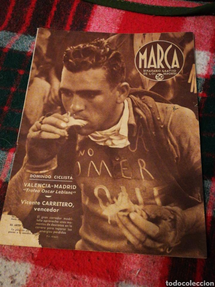 SEMANARIO GRÁFICO DEPORTES MARCA- N°77 (30 JULIO 1940). (Coleccionismo Deportivo - Revistas y Periódicos - Marca)