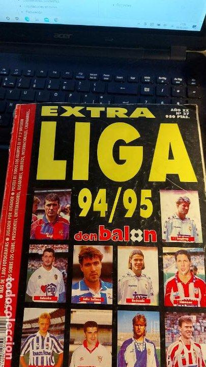 REVISTA DE FUTBOL DON BALON 94-95 EXTRA LIGA (Coleccionismo Deportivo - Revistas y Periódicos - Don Balón)