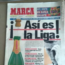Coleccionismo deportivo: DIARIO MARCA ASI ES LA LIGA TEMPORADA 91-92 BARÇA CAMPEON Nº 15875 9 JUNIO 1992. Lote 247069680