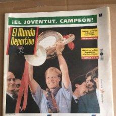 Coleccionismo deportivo: DIARIO MUNDO DEPORTIVO BARÇA CAMPIONS COPA D'EUROPA 1992 CRUYFF DREAM TEAM Nº 21877 22 MAYO 1992. Lote 247077700