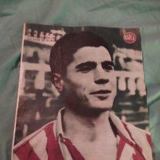 Coleccionismo deportivo: POSTER PERIÓDICO FUTBOL MARCA AÑOS 50 - GAINZA , ATLÉTICO DE BILBAO. Lote 247437745