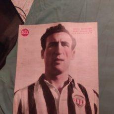 Coleccionismo deportivo: POSTER PERIÓDICO MARCA AÑOS 50 SANTA CATALINA CASTELLÓN. Lote 247441345
