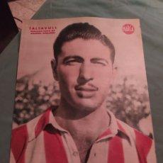 Coleccionismo deportivo: POSTER PERIÓDICO MARCA AÑOS 50 , TALTAVULL , ATLÉTICO DE AVIACION FUTBOL AT.MADRID. Lote 247442540