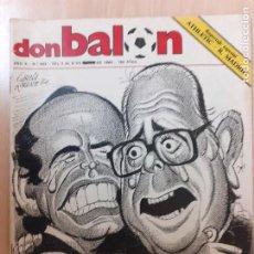 Coleccionismo deportivo: DON BALÓN Nº 443. EXPROPIADO! REPOTAJE ESPECIAL ATHLETIC - REAL MADRID. 1984. Lote 247580295