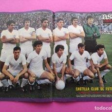 Coleccionismo deportivo: REVISTA AS COLOR Nº 473 REAL MADRID CAMPEON COPA DEL REY 79/80-POSTER CASTILLA CF FINAL 1979/1980. Lote 247947800