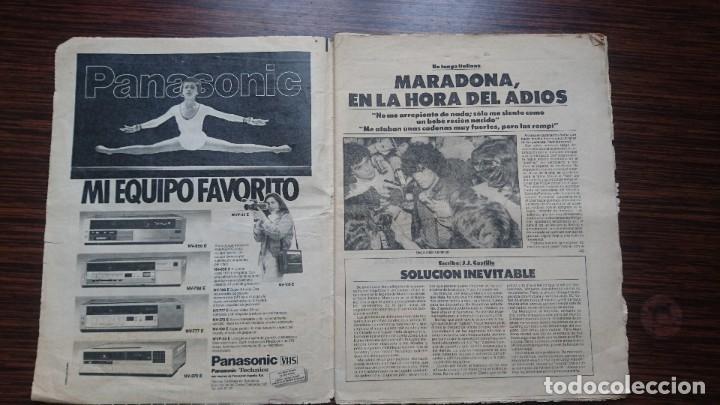 """Coleccionismo deportivo: Maradona """"La hora del adios"""" - Foto 2 - 248029520"""