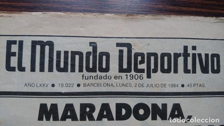 """Coleccionismo deportivo: Maradona """"La hora del adios"""" - Foto 3 - 248029520"""