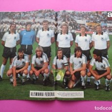 Collectionnisme sportif: REVISTA AS COLOR Nº 477 1980 ESPECIAL ALEMANIA CAMPEON EURO ITALIA 80 - POSTER GERMANY WINNER EC. Lote 248174450
