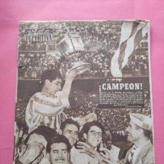 Coleccionismo deportivo: VIDA DEPORTIVA Nº 507 AHTLETIC CLUB BILBAO CAMPEON COPA GENERALISIMO 54/55 SEVILLA FINAL1954/1955. Lote 248472600