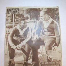 Coleccionismo deportivo: VIDA DEPORTIVA-AÑO 1962-PELE-BRASIL-MUNDIAL DE CHILE-ELIMINACION ESPAÑA-VER FOTOS-(V-22.583). Lote 248626890