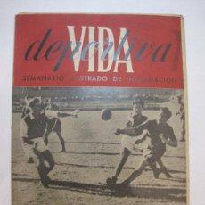 Coleccionismo deportivo: VIDA DEPORTIVA-NUMERO 23-AÑO 1945-CAMPEONATO ESPAÑA BALONMANO-VER FOTOS-(V-22.600). Lote 248774640
