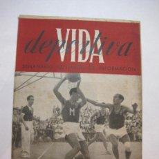 Collectionnisme sportif: VIDA DEPORTIVA-NUMERO 24-AÑO 1945-CAMPEONATO ESPAÑA BALONCESTO-COPA DE ORO-VER FOTOS-(V-22.601). Lote 248775020