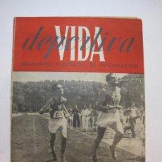 Coleccionismo deportivo: VIDA DEPORTIVA-NUMERO 27-AÑO 1945-ATLETAS CATALANES XXV CAMEPONATOS ATLETISMO-VER FOTOS-(V-22.602). Lote 248775255